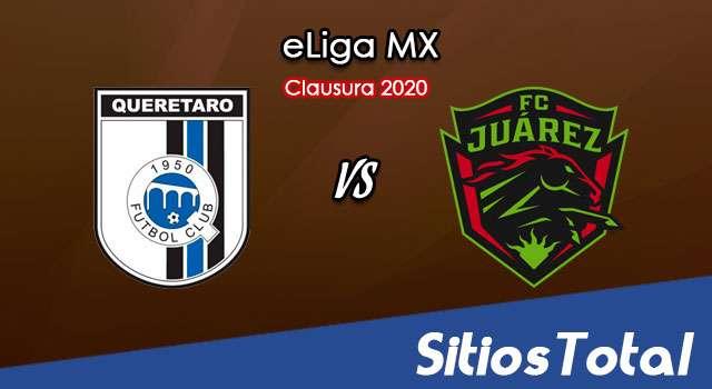 Querétaro vs FC Juarez en Vivo – eLiga MX – Miércoles 3 de Junio del 2020