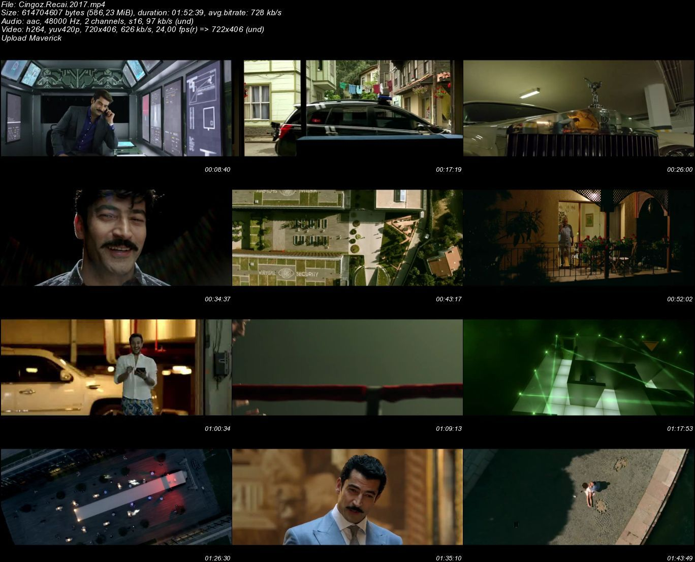Cingöz Recai - 2017 (Yerli Film) Mp4 indir