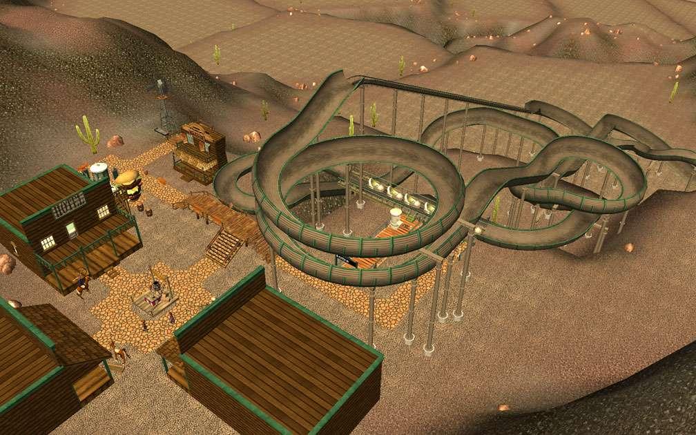 Lead Image for FlightToAtlantis.net: RCT3 FAQ: Campaign Scenario Directory Specifics: Rocky Coasters