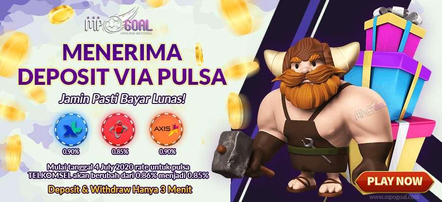 Deposit Judi Online Pulsa