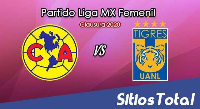 Ver América vs Tigres en Vivo – Liga MX Femenil – Clausura 2020 – Lunes 16 de Marzo del 2020