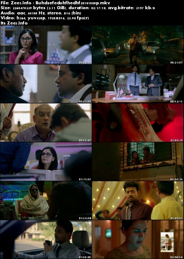 Blackmail 2018 Hindi HDRip 1080p AVC AAC 2.1GB