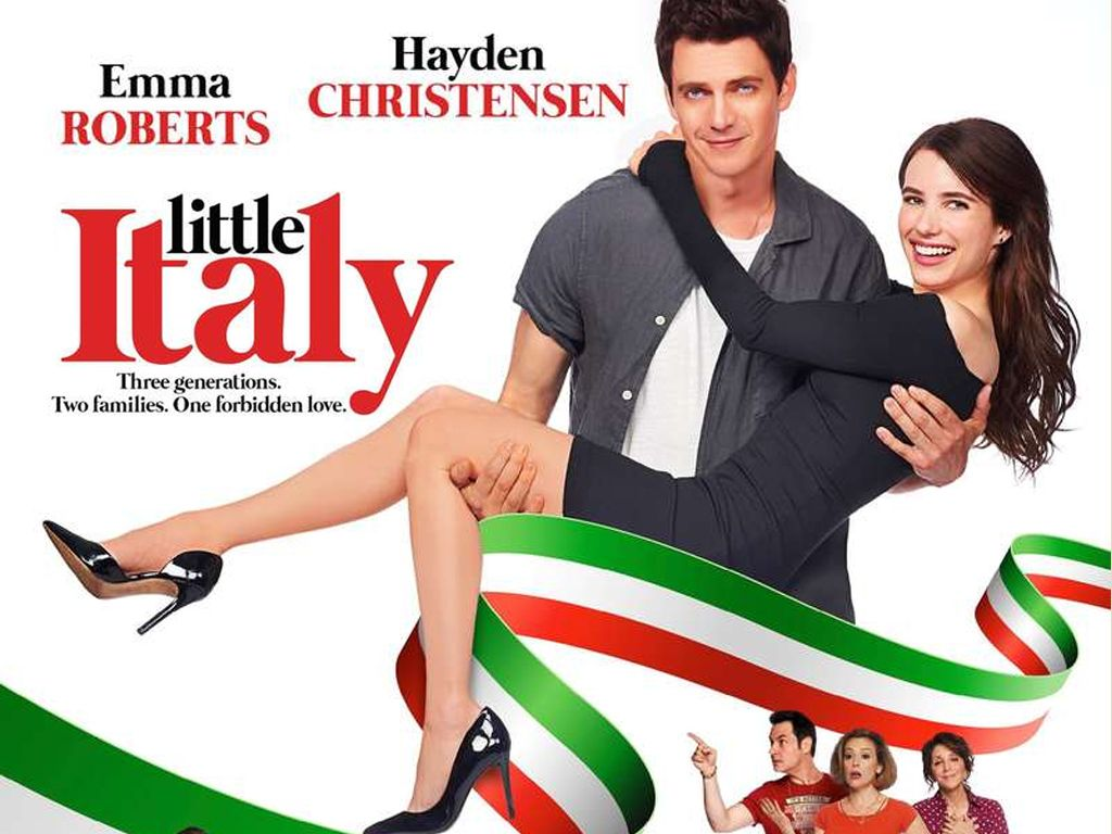Έρωτας Αλά Ιταλικά (Little Italy) Quad Poster Πόστερ