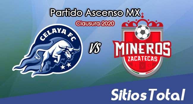Ver Celaya vs Mineros de Zacatecas en Vivo – Ascenso MX en su Torneo de Clausura 2020