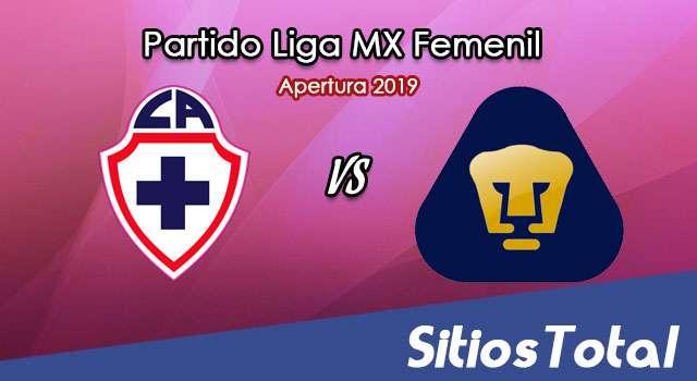 Ver Cruz Azul vs Pumas en Vivo – Liga MX Femenil – Apertura 2019 – Viernes 19 de Julio del 2019
