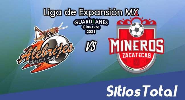 Alebrijes de Oaxaca vs Mineros de Zacatecas en Vivo – Canal de TV, Fecha, Horario, MxM, Resultado – J9 de Guardianes Clausura 2021 de la  Liga de Expansión MX