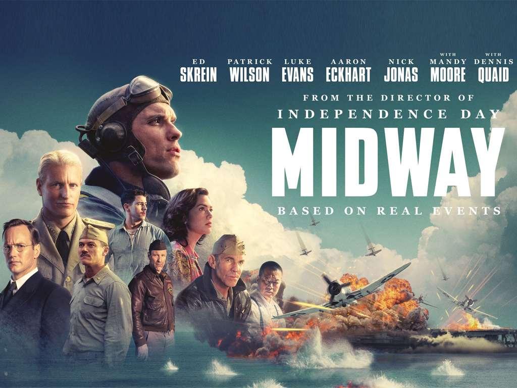 Η Ναυμαχία του Μίντγουεϊ (Midway) Poster Πόστερ Wallpaper