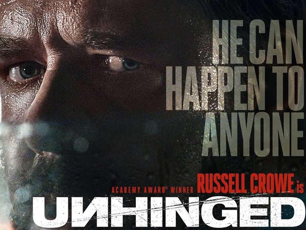 Έκρηξη Θυμού (Unhinged) Quad Poster