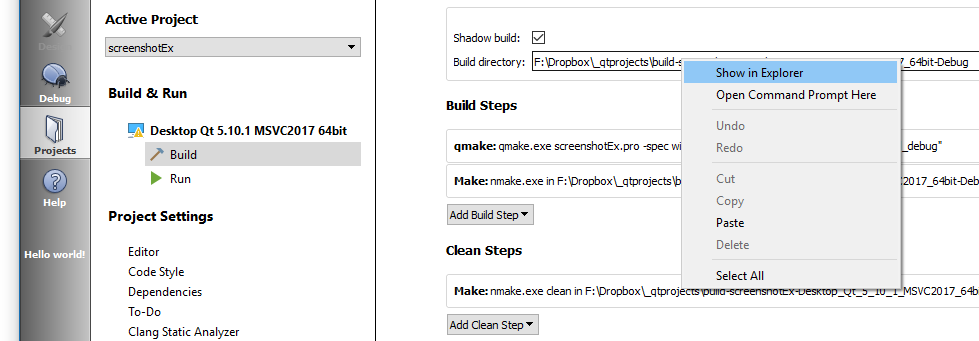 changing objectName in design view does not update names in