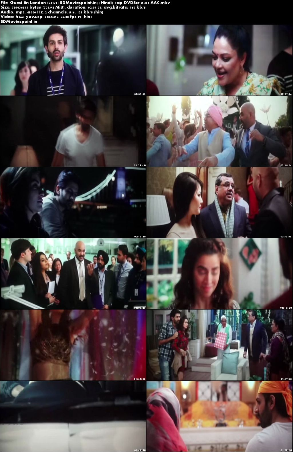 Screen Shot Guest iin London 2017 Full HD Movie Download Free