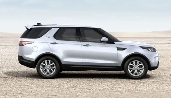 2021 Discovery at Land Rover Louisville