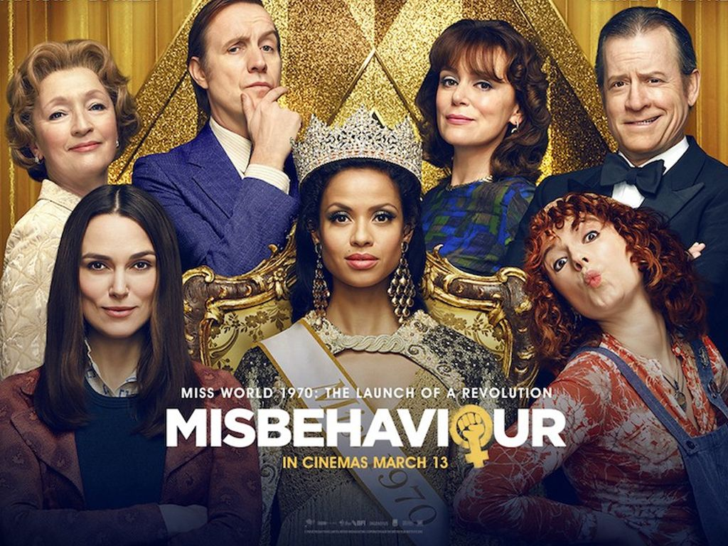 Miss Απειθαρχία (Misbehaviour) Quad Poster