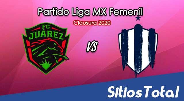Ver FC Juarez vs Monterrey en Vivo – Liga MX Femenil – Guardianes – Jueves 17 de Septiembre del 2020
