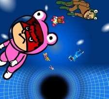 Himitsukessha Taka no Tsume THE PLANETARIUM: Burabura! Black Hole no Nazo's Cover Image