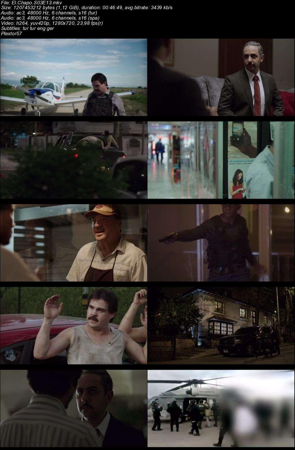 El Chapo 3.sezon tum bolumler