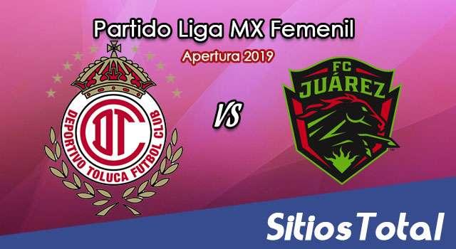 Ver Toluca vs FC Juarez en Vivo – Liga MX Femenil – Apertura 2019 – Lunes 16 de Septiembre del 2019