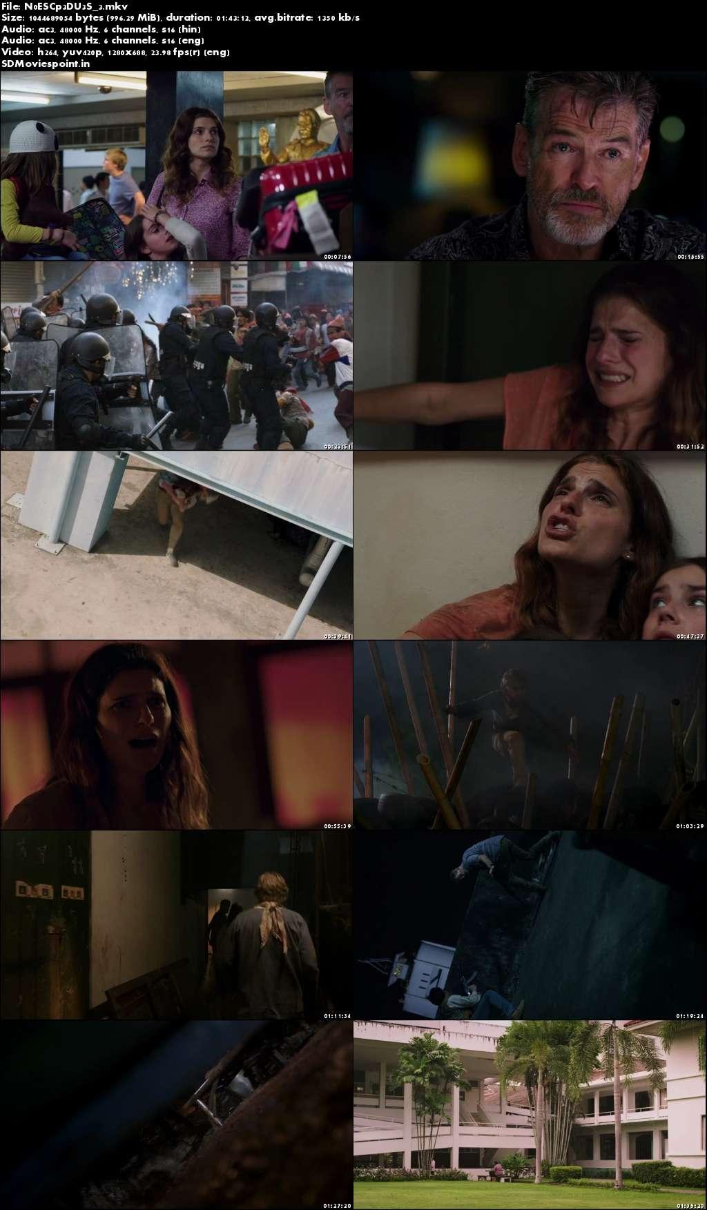 Screen Shot No Escape (2015) Full HD Movie Download Hindi Dubbed 720p