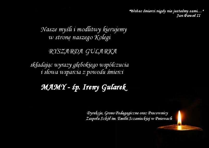 Żyli wśród nas – Irena Gularek