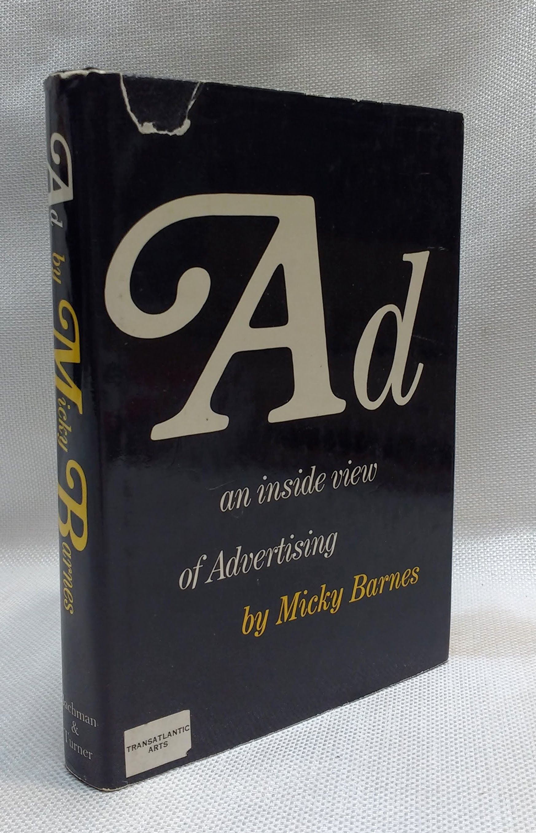 Image for Ad: an inside view of advertising