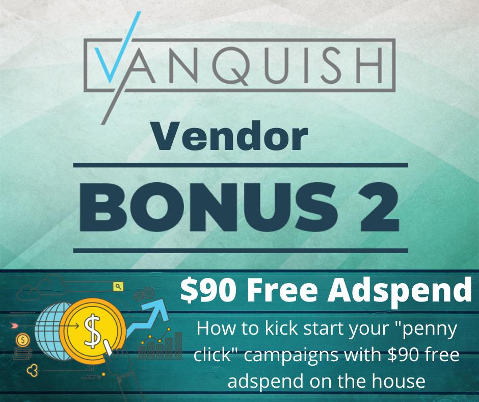 vanquish bonus 11