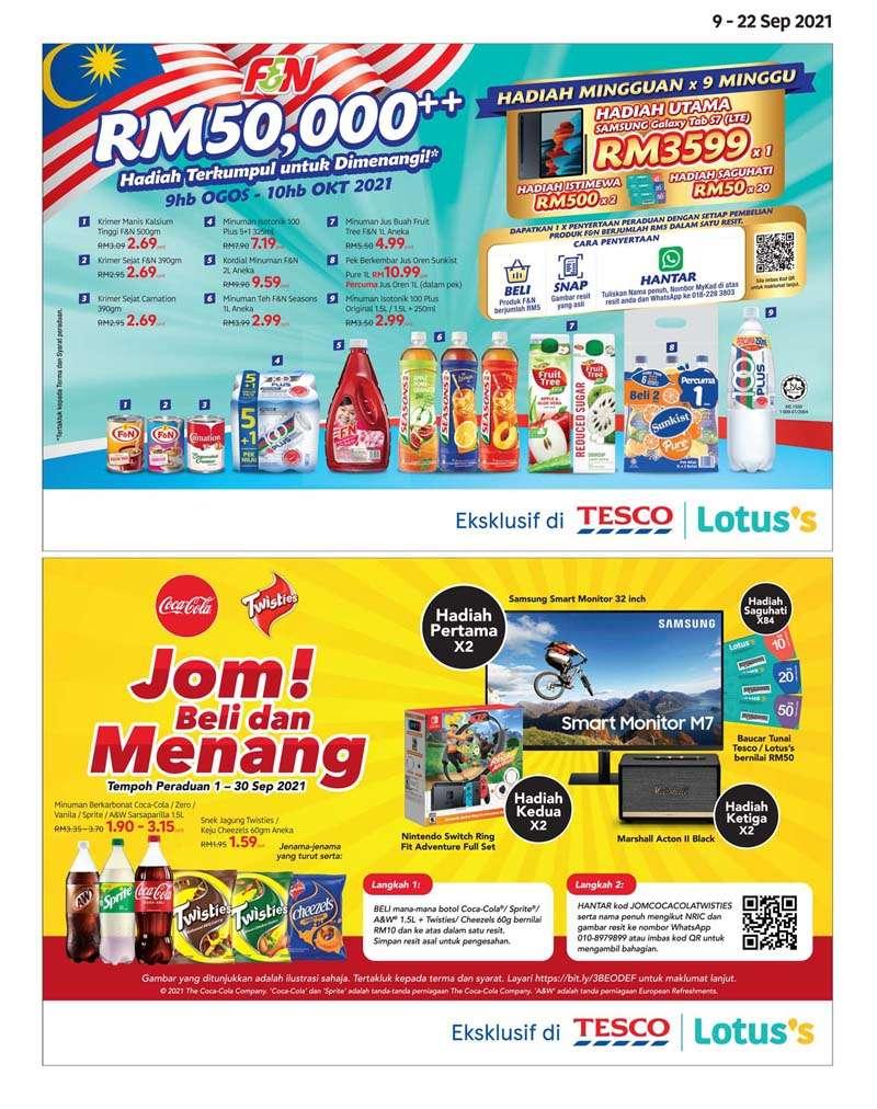 Tesco Catalogue(9 September 2021 - 22 September 2021)