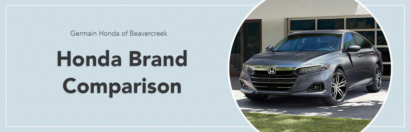 Brand Comparison Hub Page - Germain Honda of Beavercreek