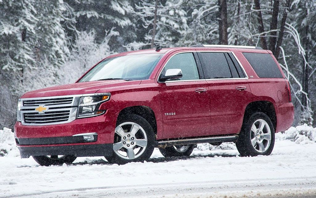 Chevrolet Tahoe Snow