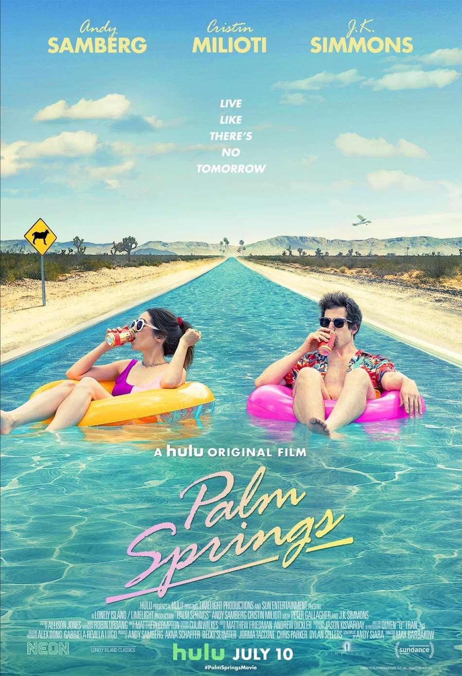 Palm Springs Poster Πόστερ