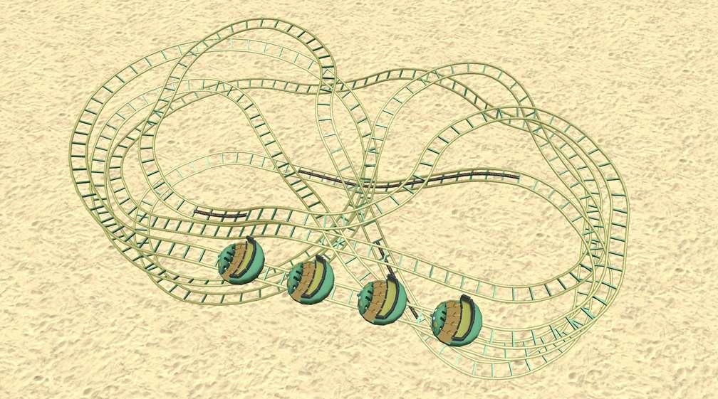 Demo Screenshot Image 01, My Downloads - Coasters, Rides, & Attractions - Coaster: Zamperla Mini