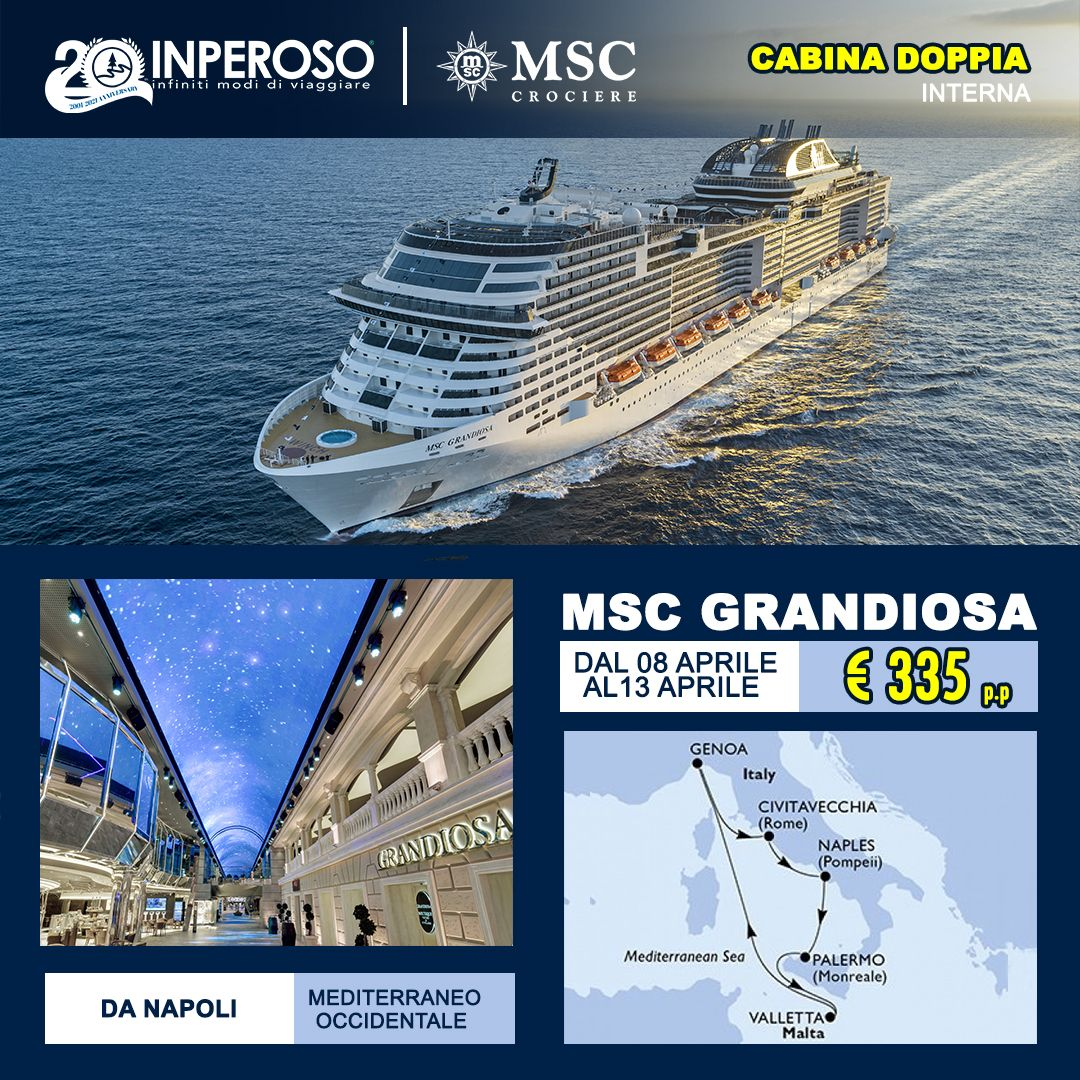 Immagine di: MSC GRANDIOSA