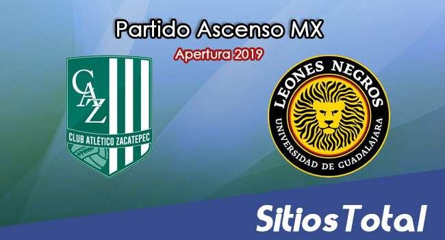 Ver Atlético Zacatepec vs Leones Negros en Vivo – Ida Cuartos de Final – Ascenso MX en su Torneo de Apertura 2019
