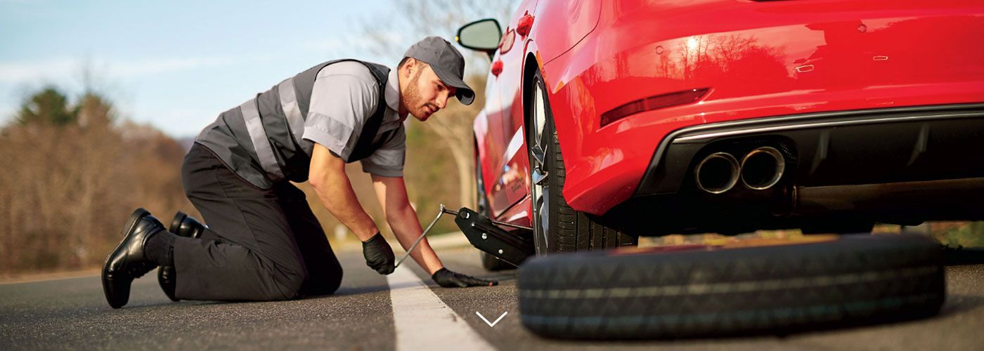 Audi Roadside Assistance Tire Change
