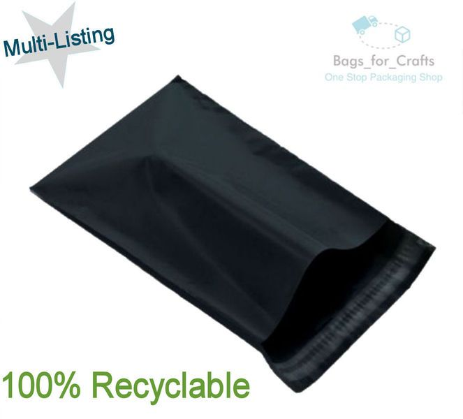 """200 BABY BLUE Mailing Postage Parcel Post Bags 10/"""" x 14/"""" Self Seal 250x350mm"""