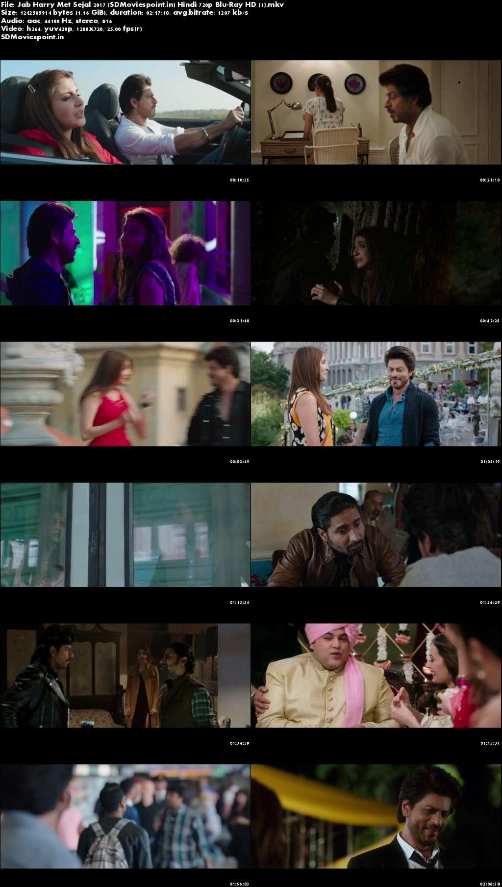 Screen Shots Jab Harry Met Sejal 2017 Full Hindi Movie Download HD 720p