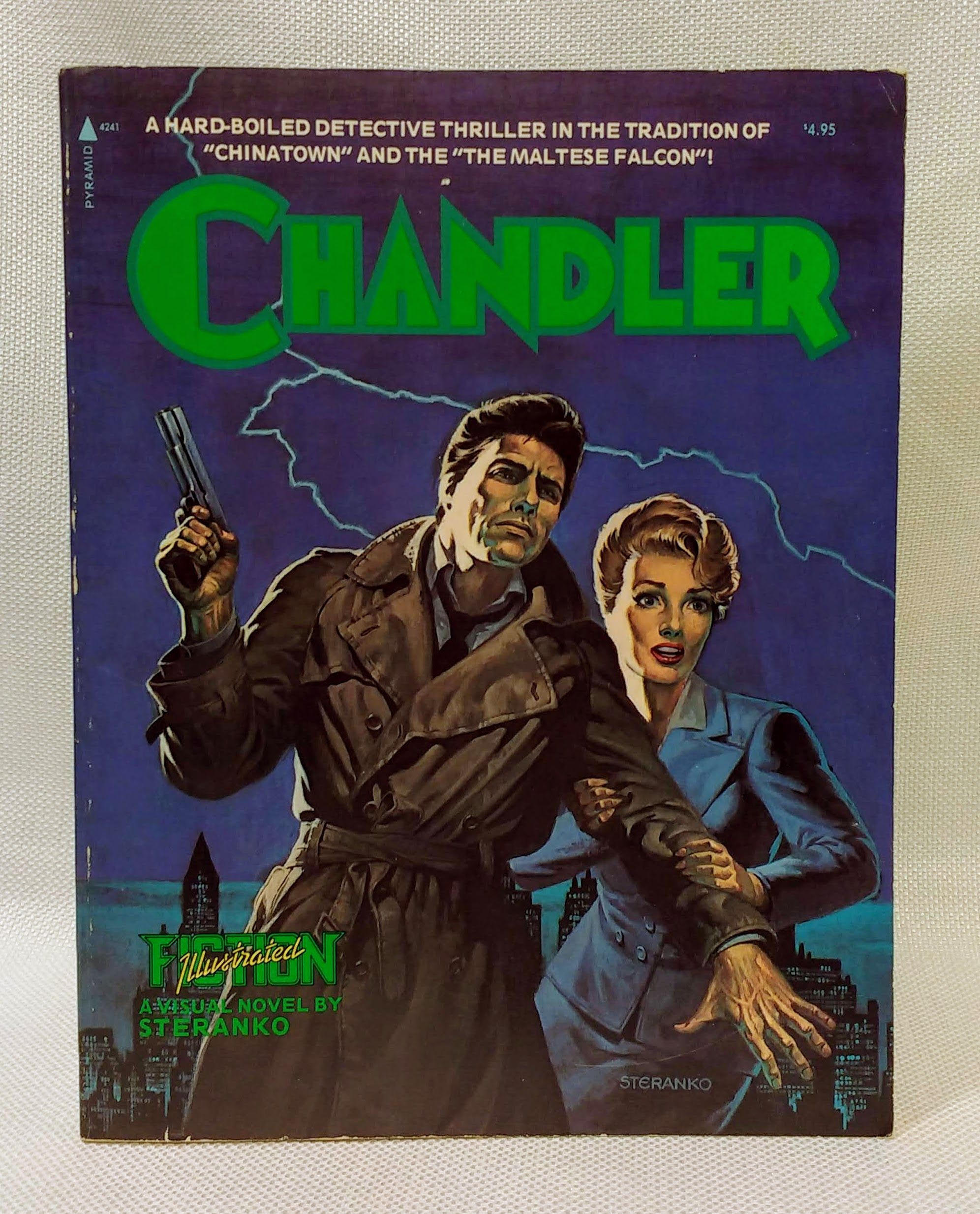 Red Tide: A Chandler Novel (Fiction Illustrated, Vol. 3), Steranko; Raymond Chandler