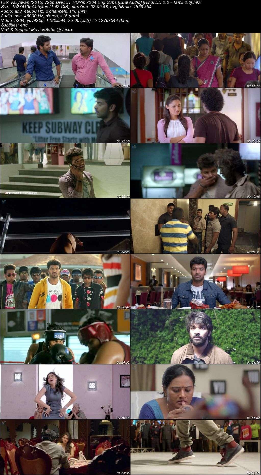 Valiyavan (2015) 720p Hindi