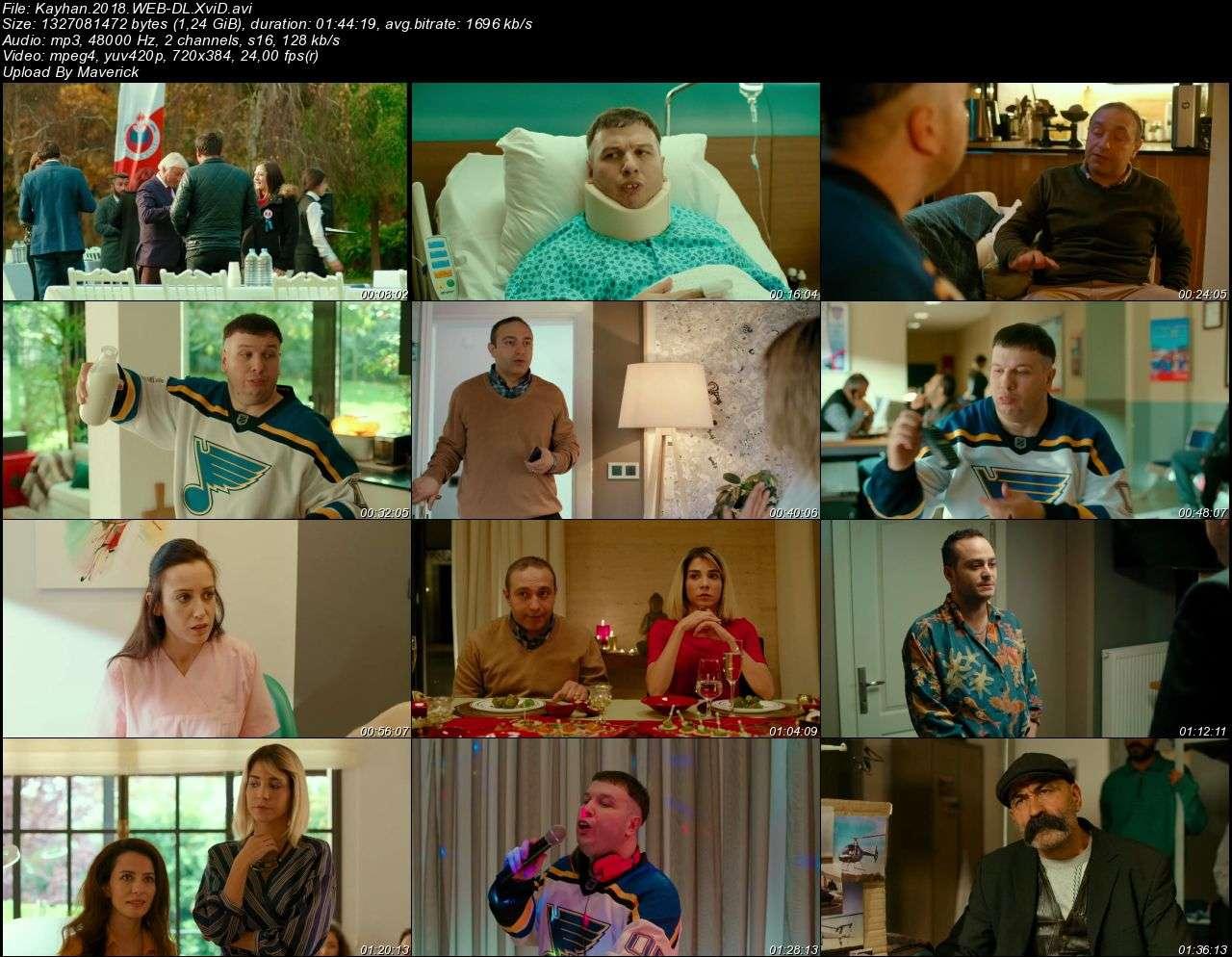 Kayhan - 2018 (Yerli Film) WEB-DL XviD indir