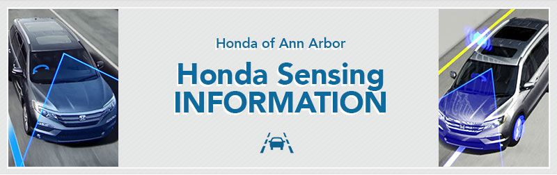 Honda Sensing™ Driver Technology