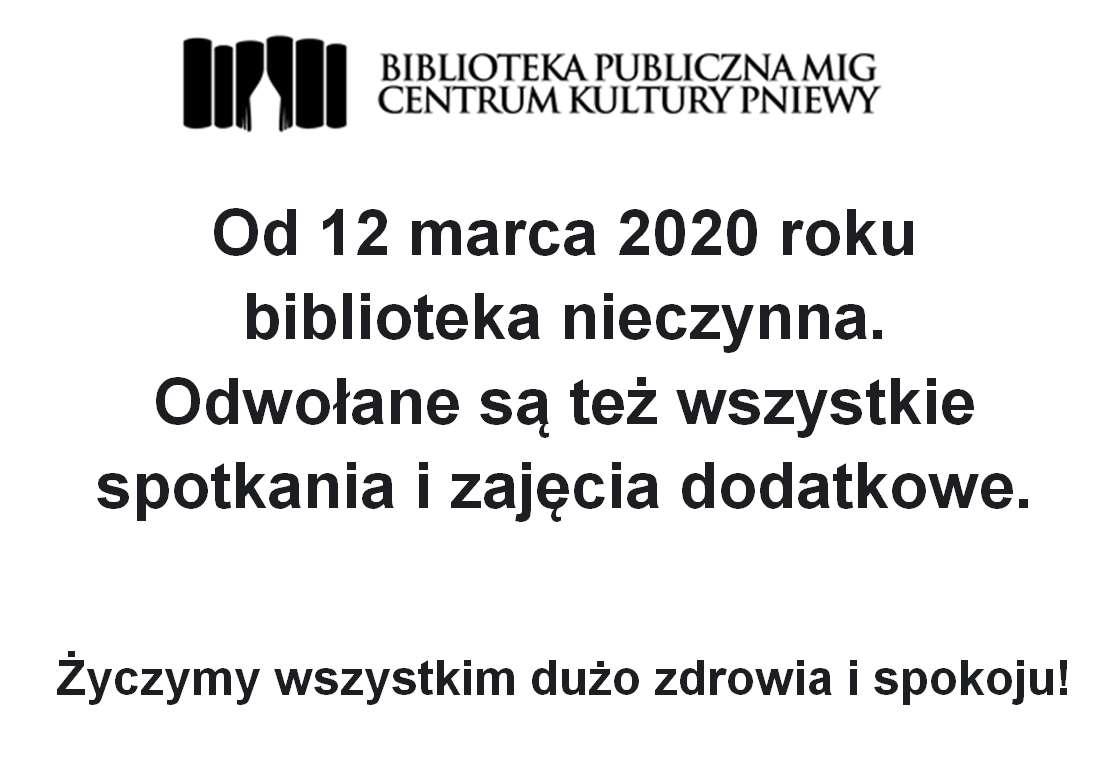 Nieczynna biblioteka i….