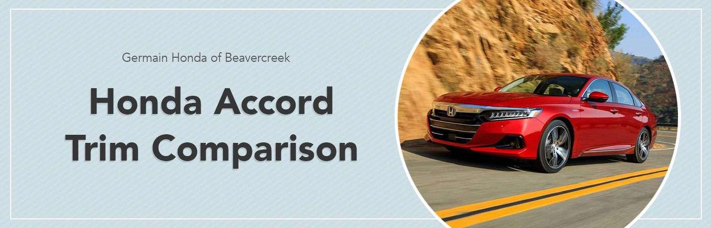 Honda Accord Trim Comparison