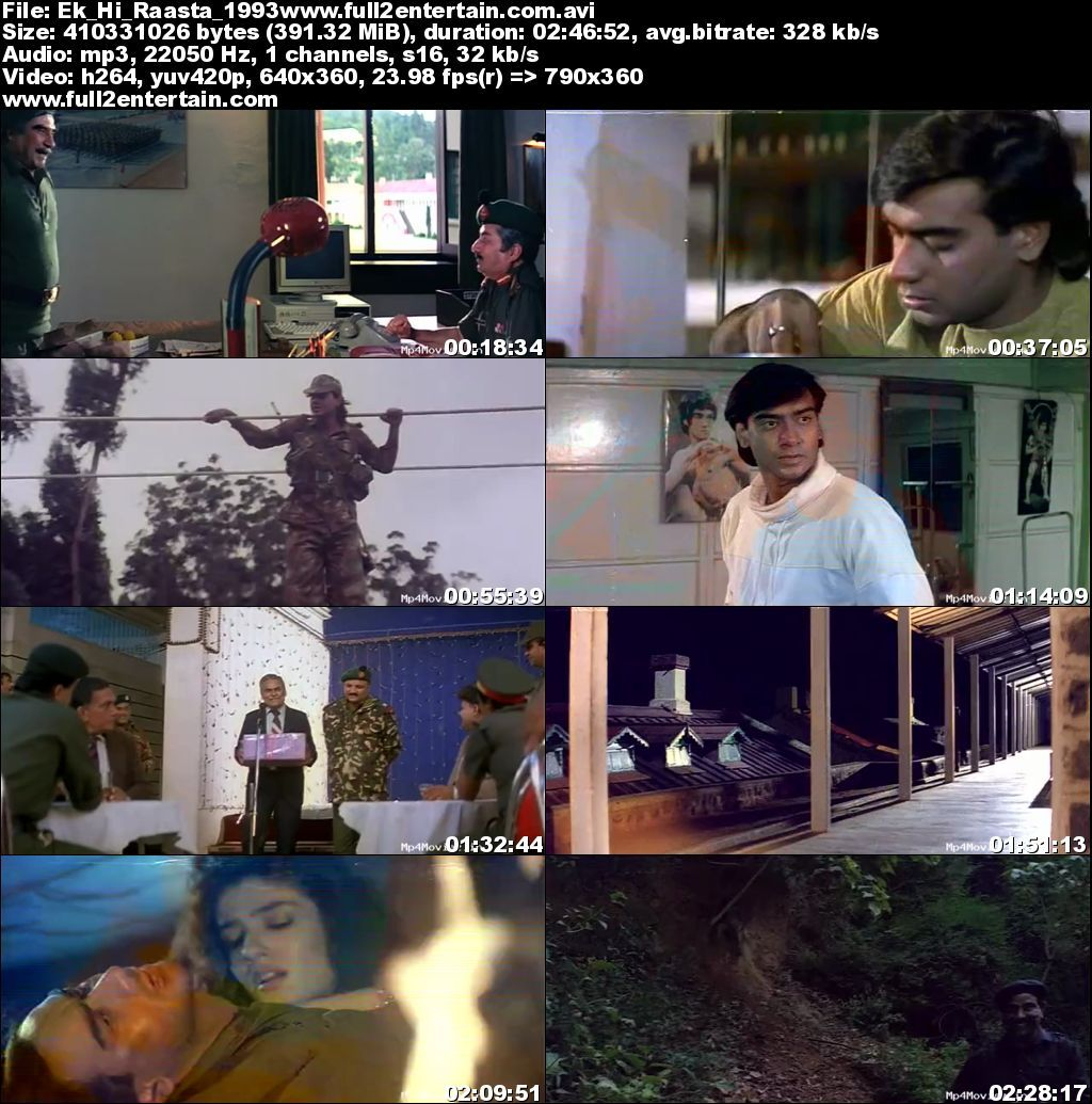 Ek Hi Raasta 1993 Full Movie Download Free in Dvdrip 480p