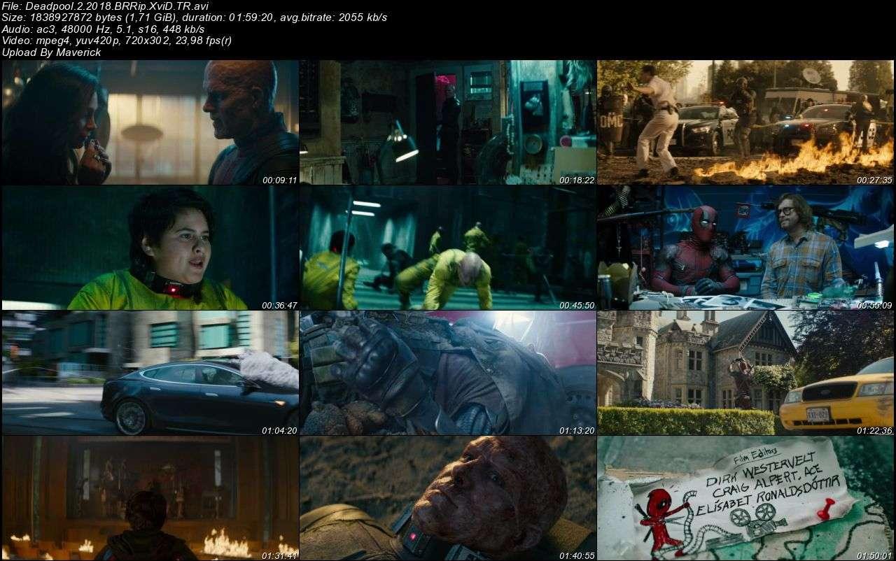 Deadpool 2 - 2018 Türkçe Dublaj BRRip indir