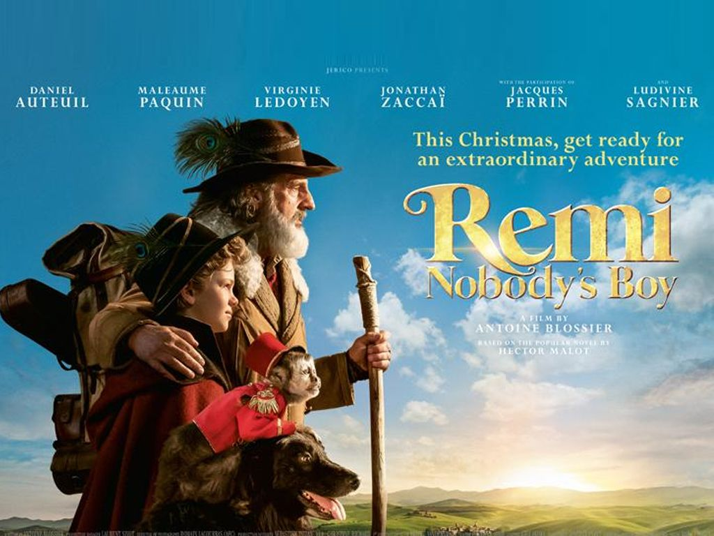 Χωρίς Οικογένεια (Rémi sans famille) Quad Poster Πόστερ