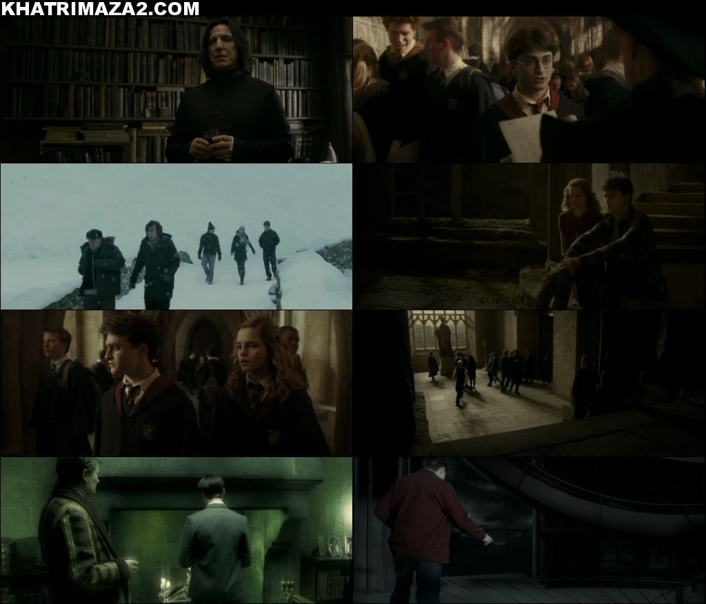 Harry Potter and the Half-Blood Prince 2009 Dual Audio Movie Download Screenshot