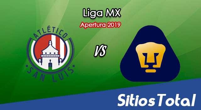 Ver Atlético San Luis vs Pumas en Vivo – Apertura 2019 de la Liga MX