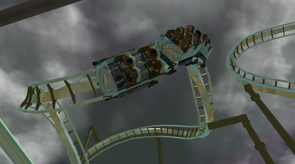 Demo Screenshot Image 03, My Downloads - Coasters, Rides, & Attractions - Coaster: The Green Serpent