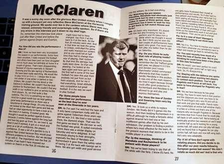 McClaren Interview