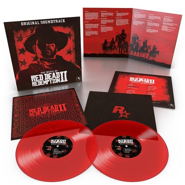read dead redemption trilha sonora edicao games vinil