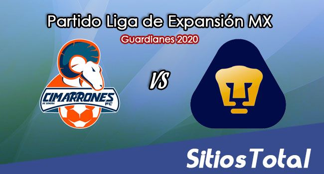 Cimarrones de Sonora vs Pumas Tabasco en Vivo – Liga de Expansión MX – Guardianes 2020 – Martes 24 de Noviembre del 2020