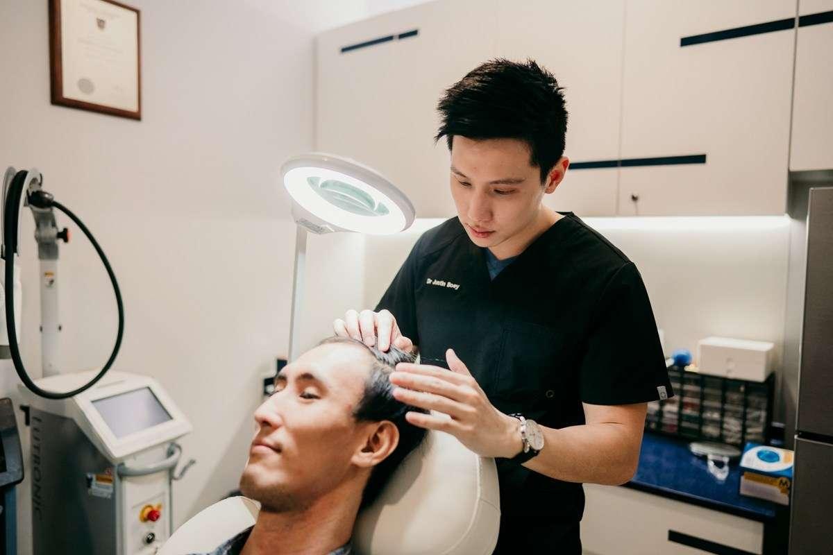 Hair Loss Treatment in Singapore Regenera Activa Sozo Aesthetic Clinic Review